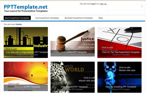 template presentasi powerpoint template powerpoint terbaru di website penyedia