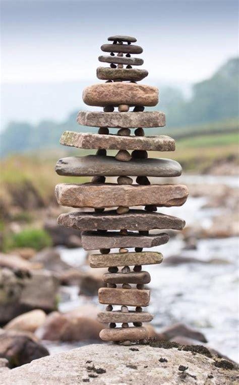 rock cairn stepping stone pinterest