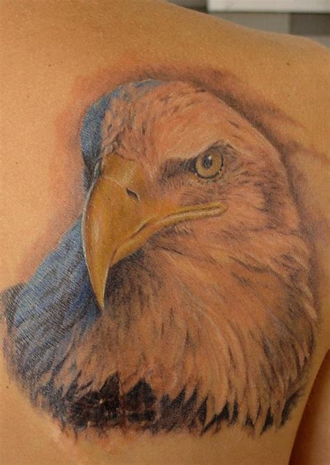 Eagle By Sergey Rikhter Tattoonow American Bald Eagle Tattoos