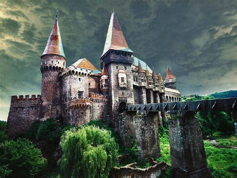 home of dracula castle in transylvania hunyad castle transylvania romania travel pinterest