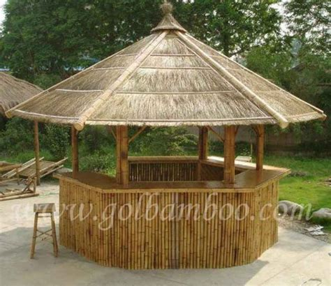 Tabouret Bois 1036 by Bamboo Gazebo Bar House Pavilion Canopy Umbrella
