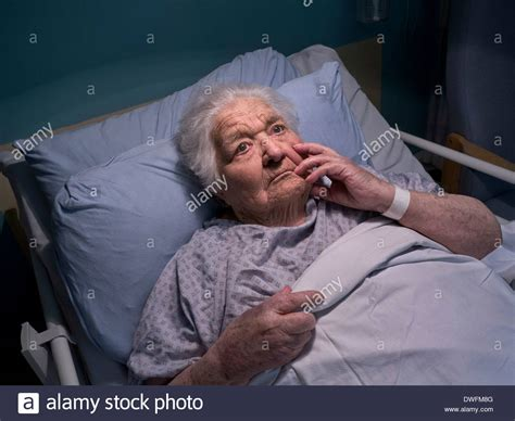carer killed eight elderly patients elderly care bed pensive confused elderly at 100 years of stock photo 67342704 alamy