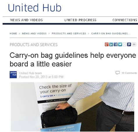 united baggage rules united s strict new carry on baggage rules go into