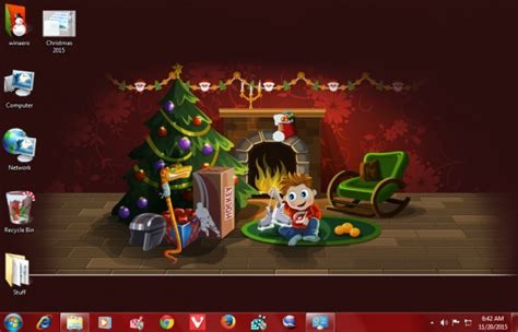 christmas themes windows 8 decorate your windows 10 for christmas and new year