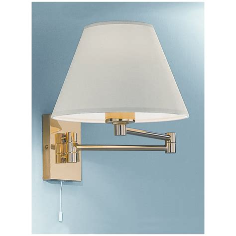 swing arm wall lights uk franklite polished brass swing arm wall light wb128 9004