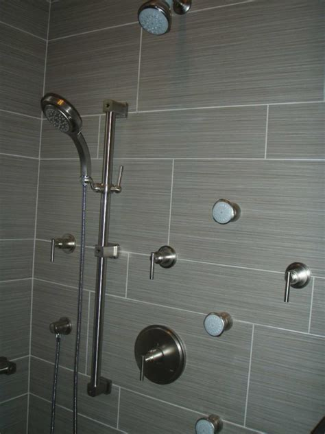 grohe  kohler shower components contemporary