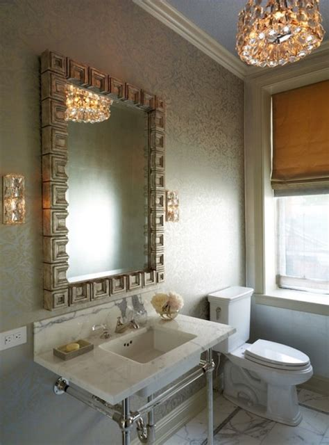 greek bathroom ideas greek key vanity mirror transitional bathroom