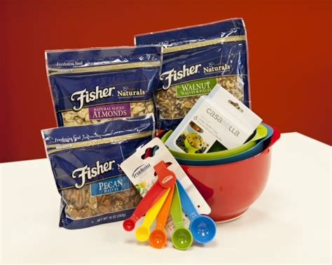 Fisher Nuts Giveaway - fresh twists on spring recipes from from chef alex guarnaschelli fisher nuts