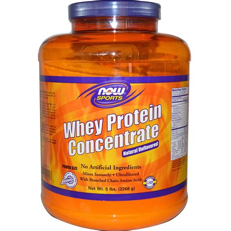 Whey Concentrate Now Foods Whey Protein Concentrate Unflavored 5