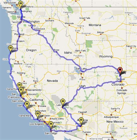 california map road trip california road trip map quotes