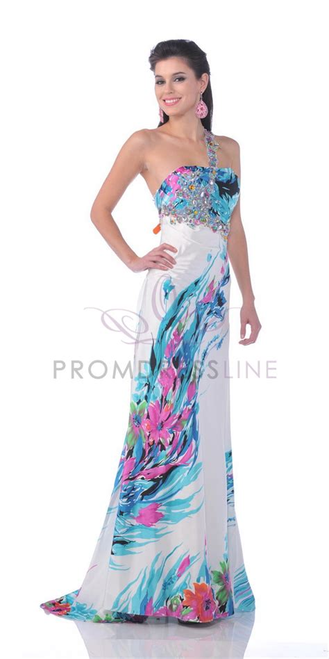 Image result for floral print prom 2012