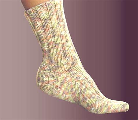 knitted socks pattern free free knitting pattern ribbed socks