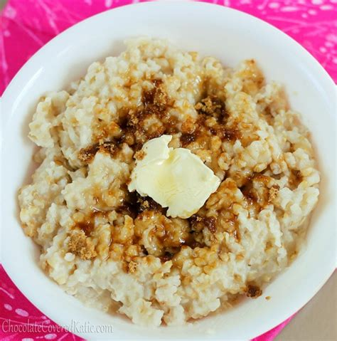 crock pot oatmeal the easy way