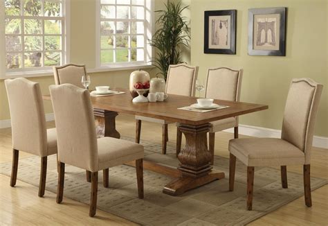 Cappuccino Dining Room Furniture Parkins Cappuccino Rectangular Dining Room Set From Coaster Coleman Furniture