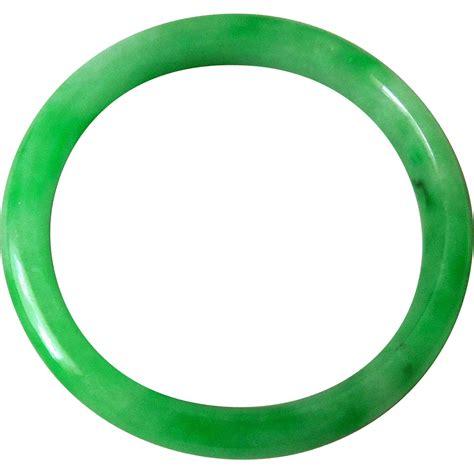 Jade Bangle vintage jade bangle bracelet sold on ruby