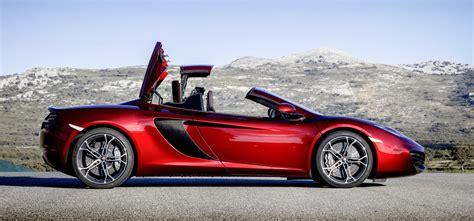 mclaren mp4 12c spider britain s 550k drop top supercar