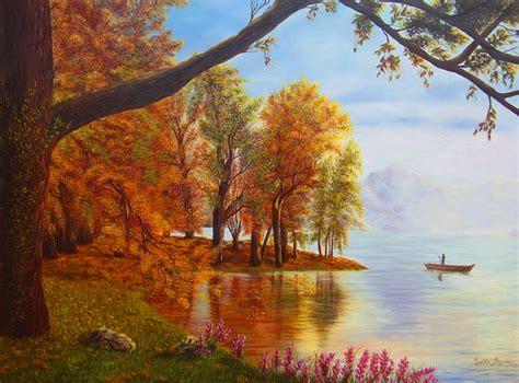 imagenes de paisajes pintados al oleo cuadros modernos paisajes al oleo