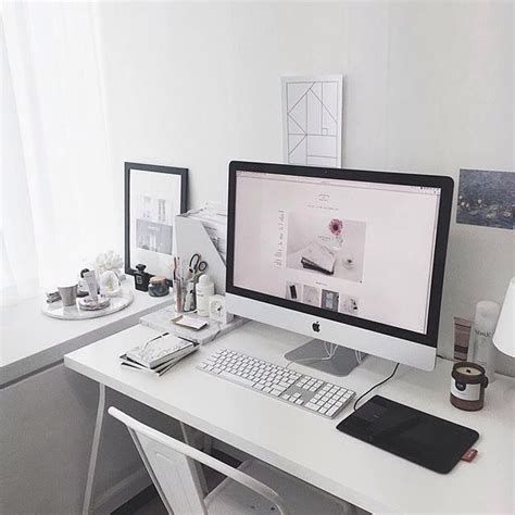 Home Office Desk Imac The 25 Best Imac Desk Ideas On Desk