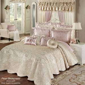 portia ii pearl quilted oversized bedspread bedding