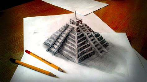 Drawing 3d Objects by 3d Pencil Drawings By Ramon Bruin Cool Material