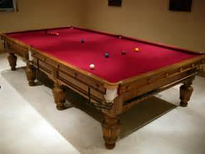 Pool Table Dining Table Cloth Size Snooker Table