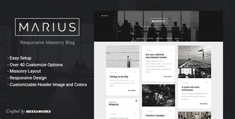 tumblr themes for quote blogs marius responsive masonry blog tumblr theme by