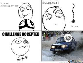 Le Me Memes - le me driving my car suddenly le snow by mustapan