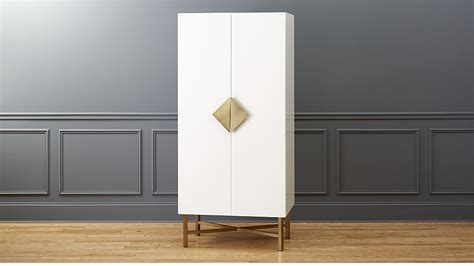 cb2 armoire astoria white wooden wardrobe cb2