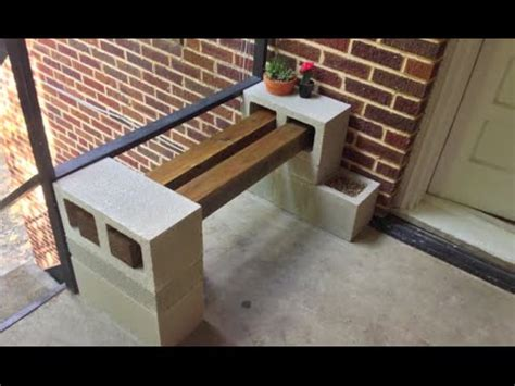 diy building  bench youtube