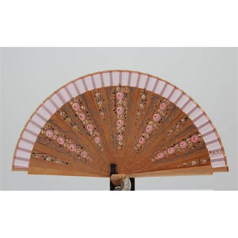 Handmade Fans - fan with certificate painted and handmade