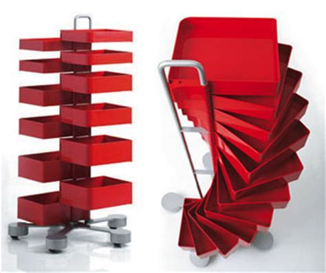 Office Furniture: Spinny Organizer Storage Cabinet Drawers