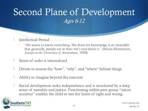 Montessori Theory Essay by An Overview Of The Four Planes Of Development Writinggroups376 Web Fc2