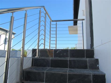 Metal Balustrade Stainless Steel Cable Balustrade System