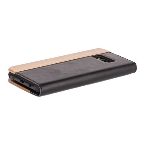 Bamboo Slim For Samsung Galaxy S8 Garuda snakehive 174 samsung galaxy s8 wood leather phone folio wallet ebay