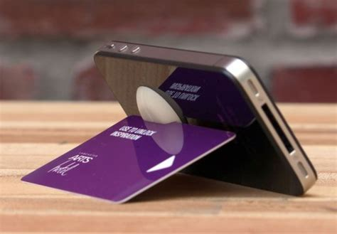 credit card iphone stand template use a credit card for an iphone stand churchmag