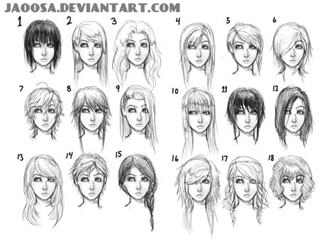 girl hairstyles deviantart hairstyles 01 by jaoosa on deviantart