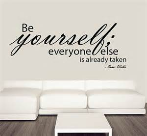 yourself wall sticker famous quote mural words wallboss stickers decals ideas create your own