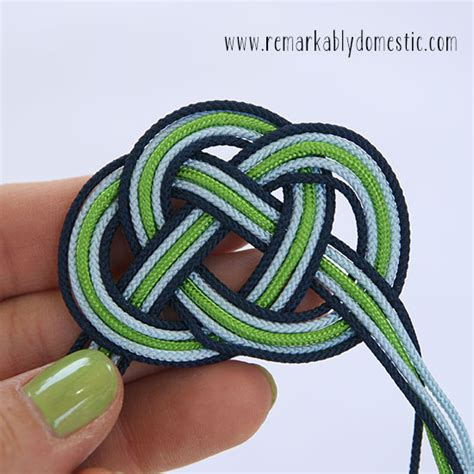 how to do an infinity knot diy infinity knot bracelet