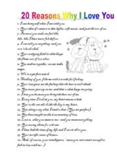 7 Reasons I Can Enjoy In The 30s by 20 Reasons Why I You A Worksheet Where You Can Test