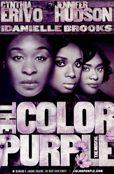 color purple musical the color purple the musical official broadway poster