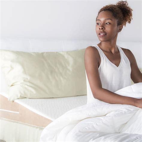 slanted bed pillows avana slant bed wedge acid reflux memory foam pillow king