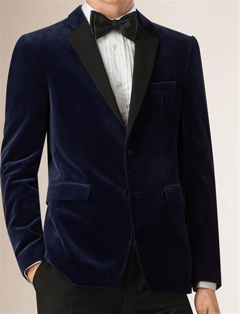 navy blue velvet navy blue velvet blazer men fashion ql