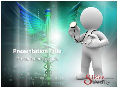 animated doctor powerpoint template medical science