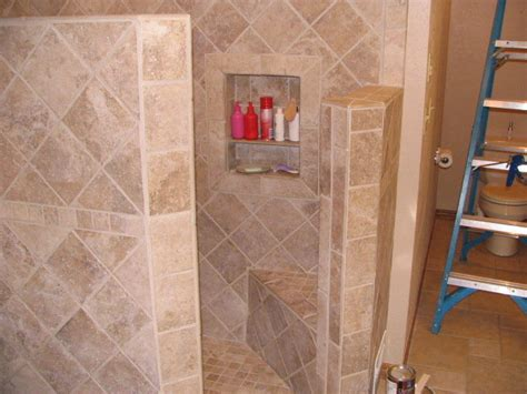 Replace Fiberglass Shower With Tile by Replacing Fiberglass Shower With Ceramic Tile By Ick