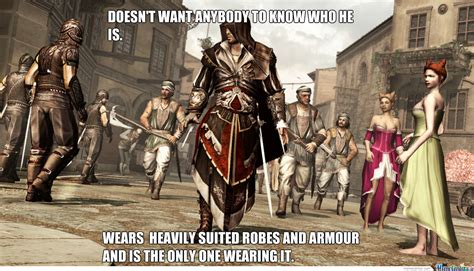 Assassin S Creed Memes - assassin s creed logic by whyusoshang meme center