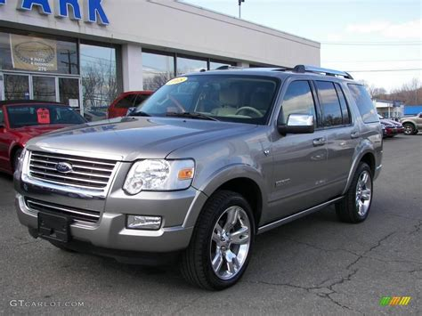 2008 Ford Explorer by 2008 Vapor Silver Metallic Ford Explorer Limited Awd