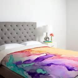 Target Queen Comforter Watercolor Trend Colorful Wallpaper Abstract Pattern