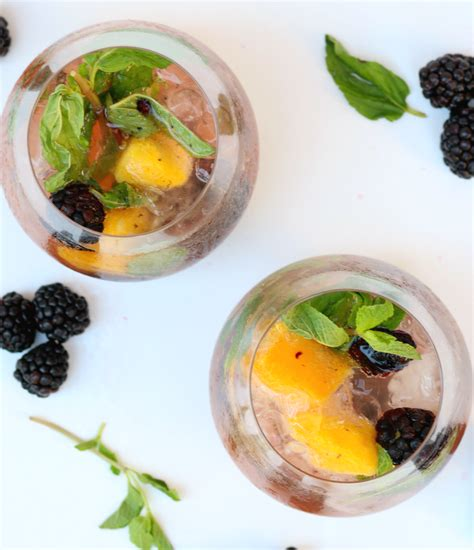 mango mojito recipe easy blackberry mango mojito recipe diary of a debutante