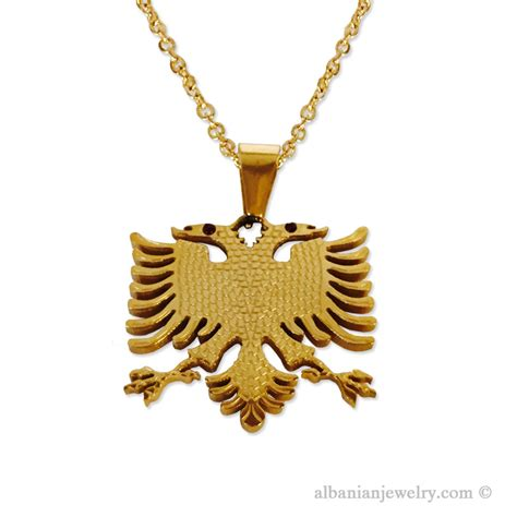 eagle necklace for albanian jewlery