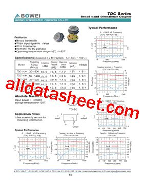 bowei integrated circuits co ltd tdc 10a datasheet pdf bowei integrated circuits co ltd